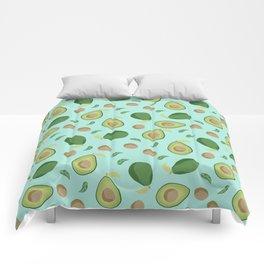 Avocado gen z fashion apparel food fight gifts Comforters