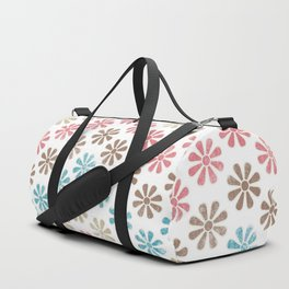 Lovely Floral Pattern Duffle Bag