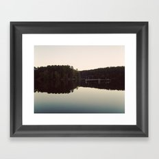 still lake Framed Art Print