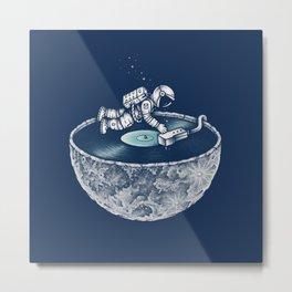 Space Tune Metal Print