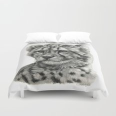 Young Guepard g094 Duvet Cover