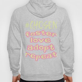 "Great Tee typography design saying ""Chosen"" and showing your the chosen one! Chosen, GIRLS CHOSEN Hoody"