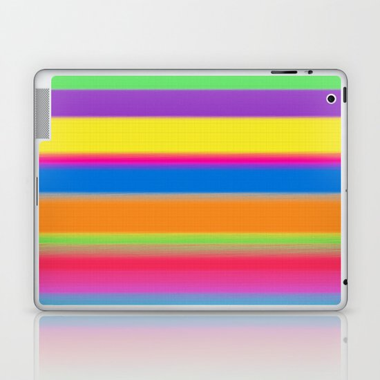 Candy Stripes. Laptop & iPad Skin