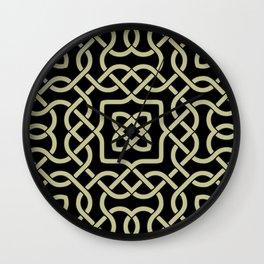 Celtic ornament Wall Clock