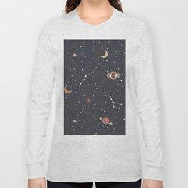 Mystical Galaxy Long Sleeve T-shirt