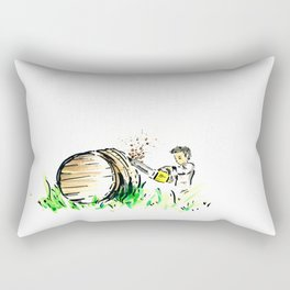 "Somm , into the bottle chapter 3 ""The barrels"" Rectangular Pillow"