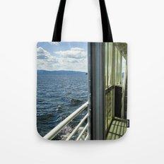 Burlington, Vermont Boat Ride.  Tote Bag