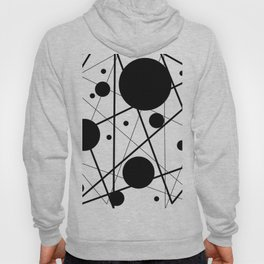 Abstract Lines and Dots Hoody