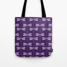 dragonfly in acai Tote Bag