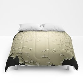 Grunge Vector Background Blank Template Comforters