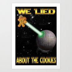 Death Cookies Art Print
