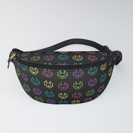 Neon Frenchies Fanny Pack
