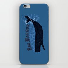 Sag Harbor Whale iPhone & iPod Skin