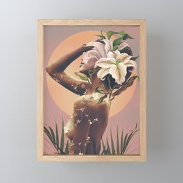 Floral beauty 3 Framed Mini Art Print