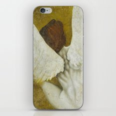 The Gold  Angel iPhone & iPod Skin