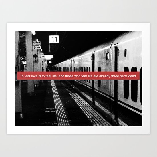 subway station Art Print