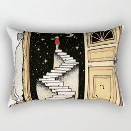 Behind The Door Rectangular Pillow