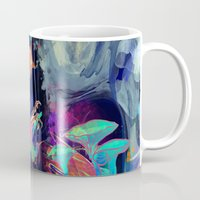 archan nair Mugs featuring Embrace by Archan Nair
