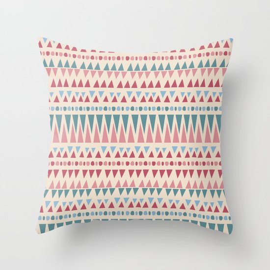 Bubble Gum Throw Pillow