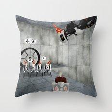 Glados' Birthday Throw Pillow