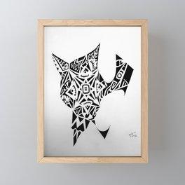 Freehand, GDM Framed Mini Art Print
