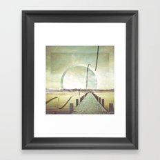 Southern Lights Framed Art Print