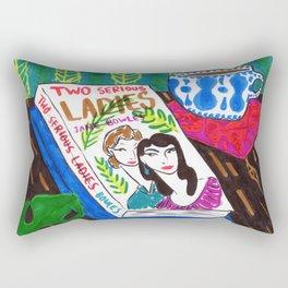 Summer Still Life Rectangular Pillow