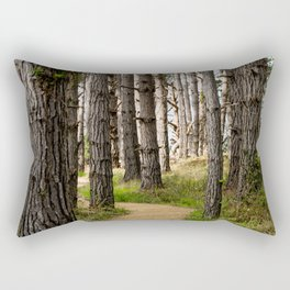 Path to the Sea (Point Lobos) Rectangular Pillow