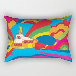 Yellow Submarine Rectangular Pillow