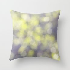 Muted greens Throw Pillow
