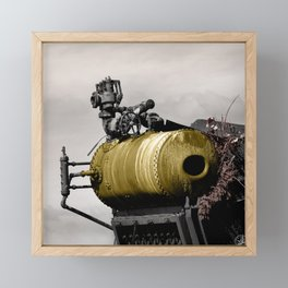 The Thing, Astoria, Oregon Framed Mini Art Print