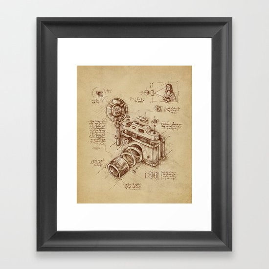 Moment Catcher Framed Art Print