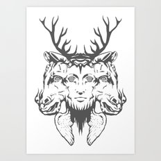GOD II Art Print