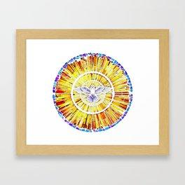 Holy Spirit in Christianity Catholic Church Trinity Sacred, God, Jesus, Bible Framed Art Print