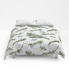 Rosemary rustic pattern Comforters