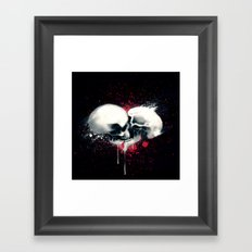 Death Lovers Framed Art Print