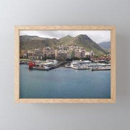 Panaroma view of Spanish Isles Framed Mini Art Print