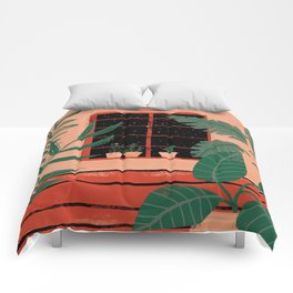 Urban jungle Comforters