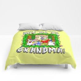 Christmas  |  Santa  |  Grandma Comforters