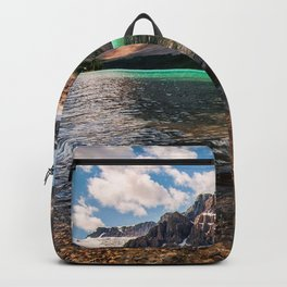 Lake Canada Parks Mountains Scenery Bow Jasper Crag Nature Backpack
