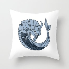 Capricorn 2 Throw Pillow