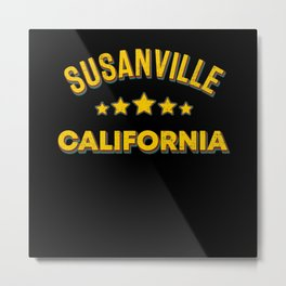 Susanville California Metal Print