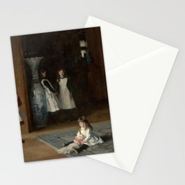 John Singer Sargent - The Daughters of Edward Darley Boit Stationery Cards