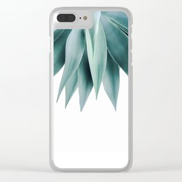 Agave fringe Clear iPhone Case