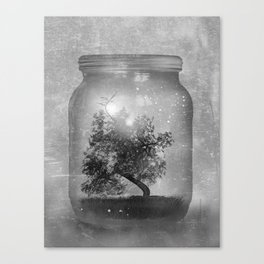 Black and White - Saving Nature Canvas Print
