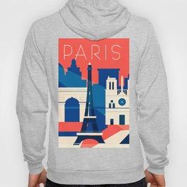 Abstract Paris Hoody