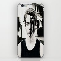 american beauty iPhone & iPod Skins featuring American Beauty/American Psycho by ClassicalSass