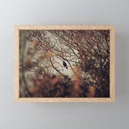 Trust The Branch, Trust Your Wings Framed Mini Art Print