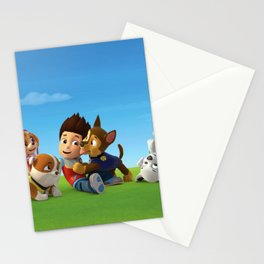 Paw Patrol Society6 - Online Shopping - Children's Room Decor - Designs Stationery Cards