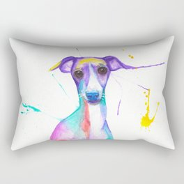 June (The Italian Greyhound) Rectangular Pillow